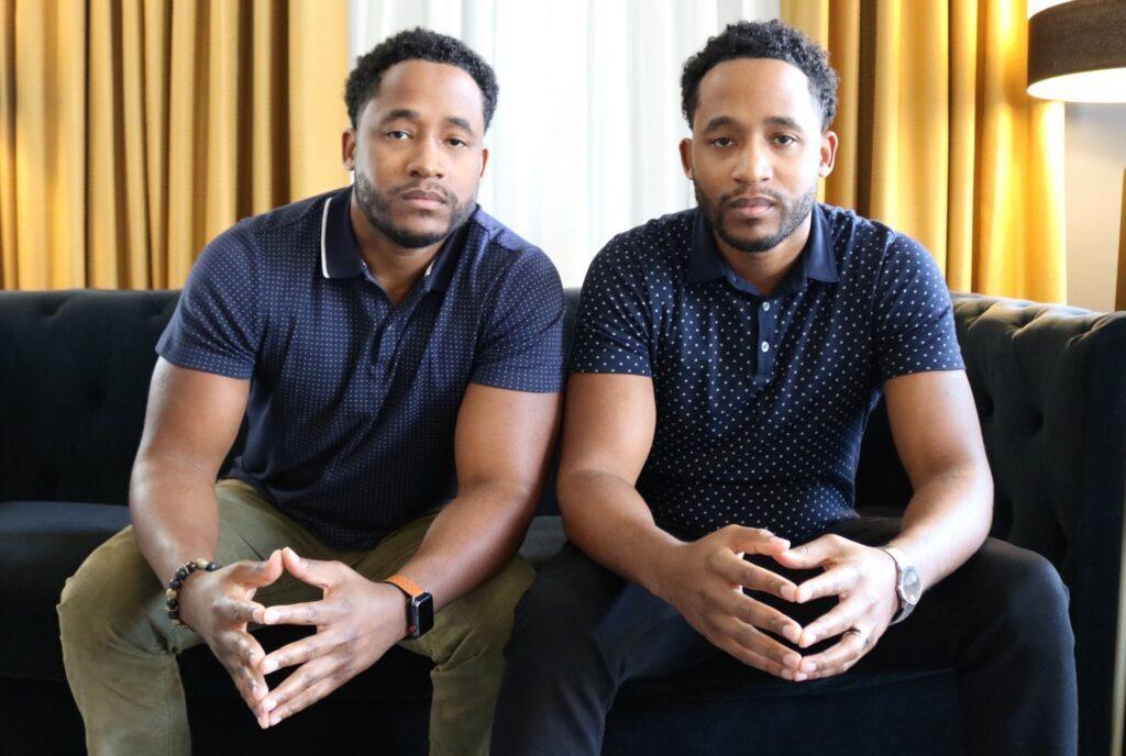 Ashton and Ryan Clark, Co-founders of Ticket Falcon